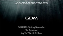 GDM live at #10YearsOfBass