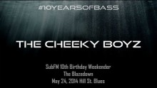 Cheeky Boyz live at #10YearsOfBass