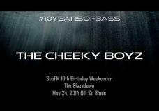 Cheeky Boyz live at #10YearsOfBass