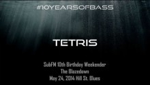 Tetris live at #10YearsOfBass