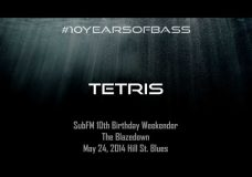 Tetris live at #10YearsOfBass