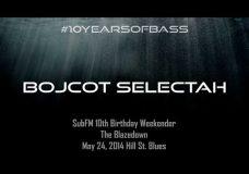 Bojcot Selectah live at #10YearsOfBass