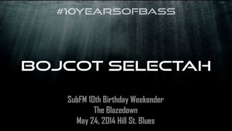 Bojcot Selectah live at #10YearsOfBass