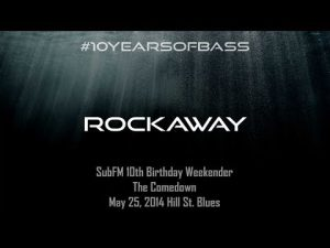 Rockaway live at #10YearsOfBass
