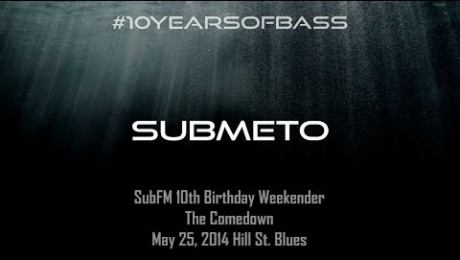 Submeto live at #10YearsOfBass