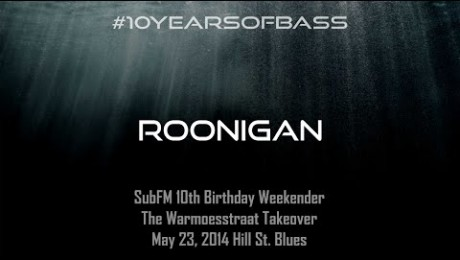 Roonigan live at #10YearsOfBass