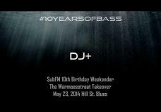 DJ + live at #10YearsOfBass