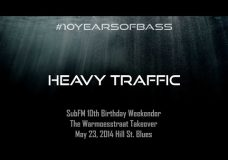 Heavy Traffic live at #10YearsOfBass