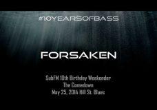 Forsaken live at #10YearsOfBass