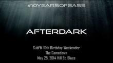Afterdark live at #10YearsOfBass