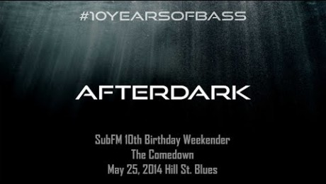 Afterdark live at #10YearsOfBass