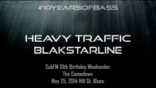 Heavy Traffic b2b BlakStarLine live at #10YearsOfBass