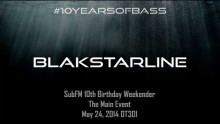 BlakStarLine live at #10YearsOfBass in OT301