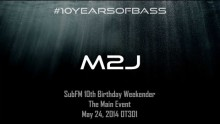 M2J live at #10YearsOfBass in OT301