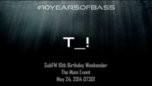 T_! (Macabre Unit) live at #10YearsOfBass in OT301
