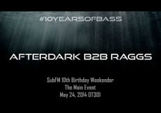 Afterdark b2b Raggs live at #10YearsOfBass in OT301