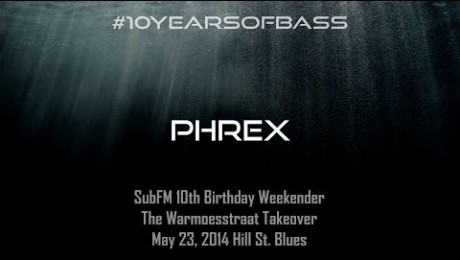 Phrex live at #10YearsOfBass