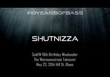Shutnizza live at #10YearsOfBass