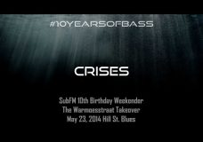 Crises live at #10YearsOfBass