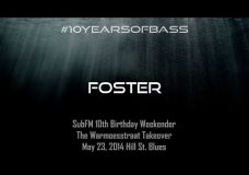 Foster live at #10YearsOfBass