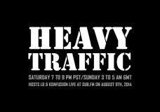 Heavy Traffic Radio: LB & Konfusion – 9th August 2014