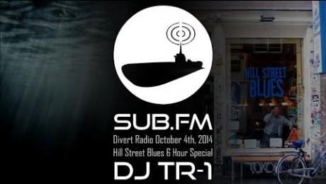 Divert Radio - TR-1 at Hill Street Blues 4th October 2014