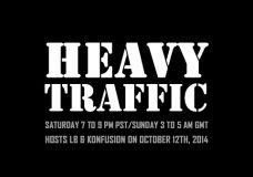 Heavy Traffic Radio: LB & Konfusion – 12th October 2014