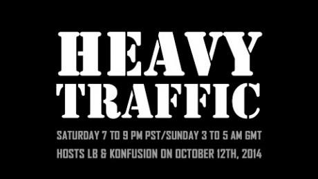 Heavy Traffic Radio: LB & Konfusion - 12th October 2014